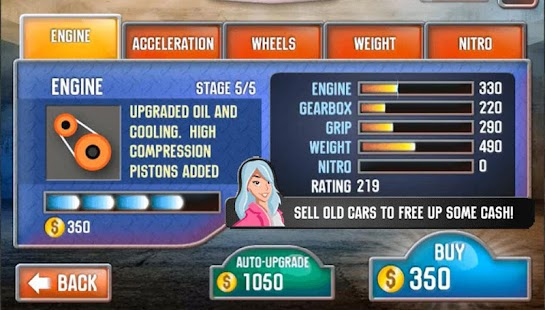 Drag Racing Battle Screenshot