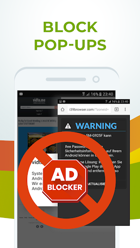 Free Adblocker Browser - Adblock & Popup Blocker 64.0.2016123125 screenshots 2