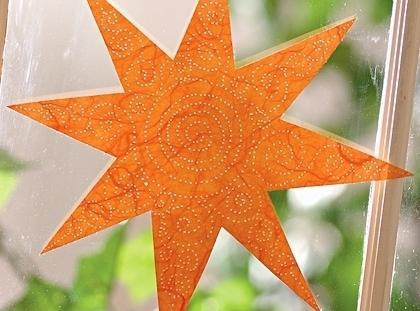 Pierced Sun Catcher Craft Recipe