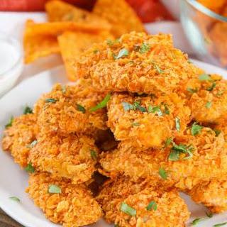 Doritos Crusted Chicken Strips Recipe