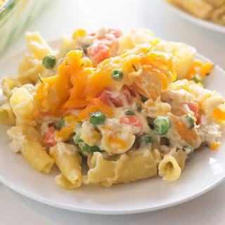 Cheesy Chicken Pasta Casserole Recipe