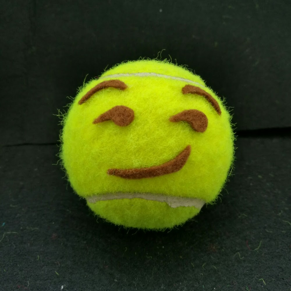 開心網球磁石 Happy Tennis Magnet