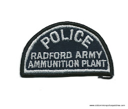 Photo: United States Army Police at Radford Ammunition Plant (Defunct)