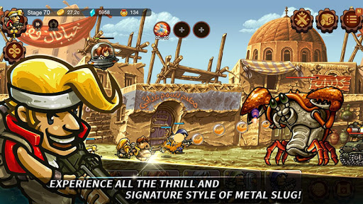 Metal Slug Infinity: Idle Role Playing Game screenshots 8