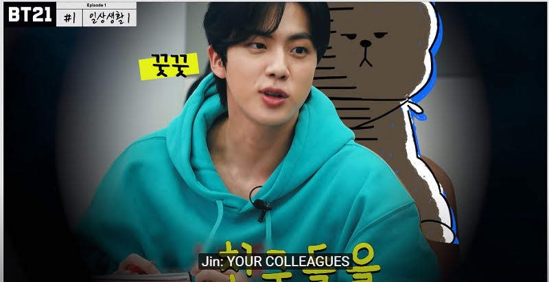 BTS's Money Minded Brain Jin wants to Sell Cookies Friends for Money