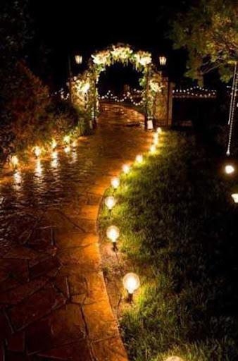 ガーデンランプデザインのアイデア
