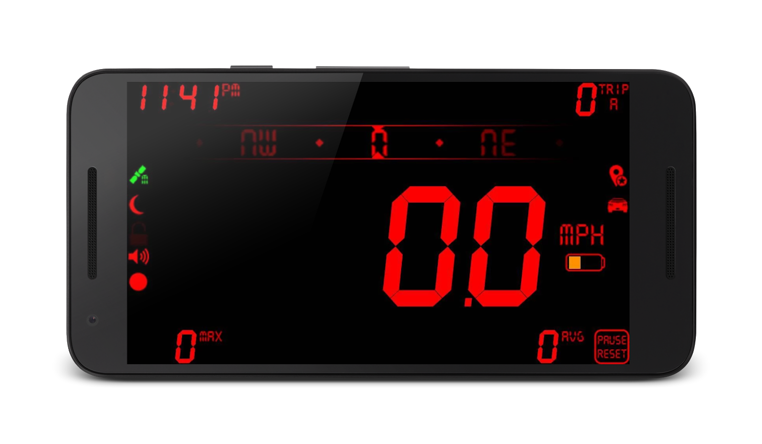 DigiHUD Pro Speedometer- screenshot