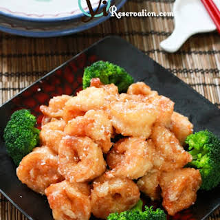 Chinese Buffet Style Coconut Shrimp (椰子蝦).