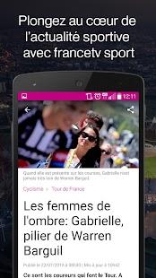 francetv sport- screenshot thumbnail