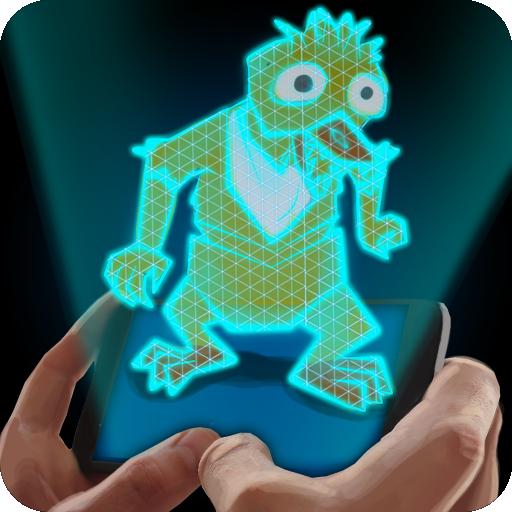 模拟のホログラムフレディ友達ジョーク LOGO-記事Game