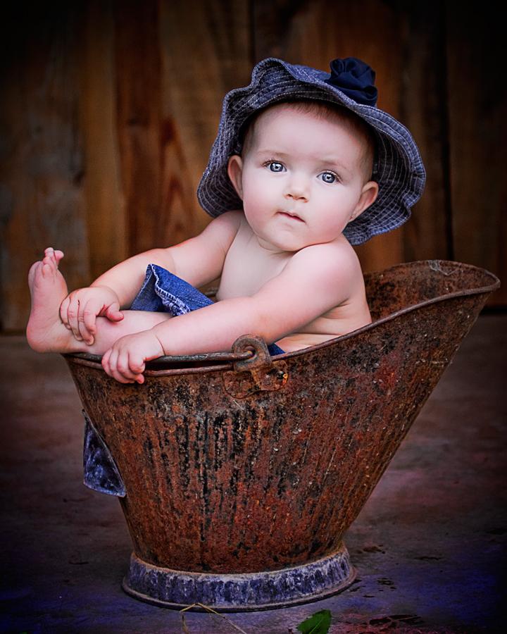 Sweet Cadance by Tammy Reagan - Babies & Children Child Portraits ( child, baby, portrait )
