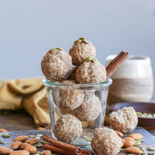 Vanilla Chai Fat Balls.