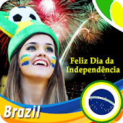 7th September Brazil Independence Day DP Maker