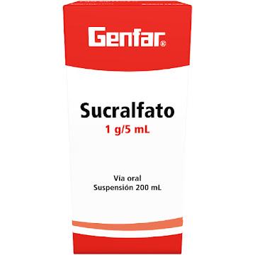 Sucralfato Genfar 1g/5ml