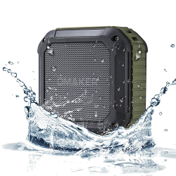 Omaker M4 Portable Bluetooth 4.0 Speaker with 12 Hour Playtime for Outdoors/Shower