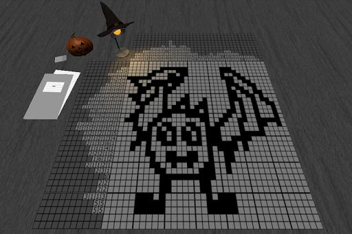 Halloween Japanese Crossword