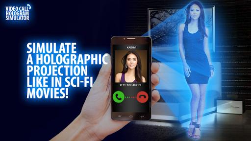 Video Call Hologram Simulator
