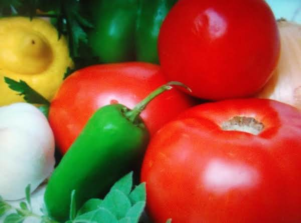 Fresh Tomato And Pepper Salsa