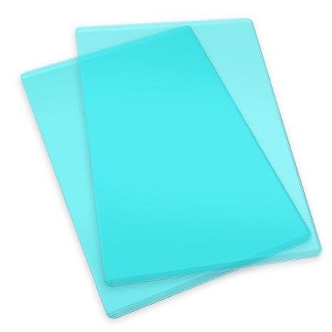 Sizzix Cutting Pads 6.125X8.875 1 Pair - Standard/Mint