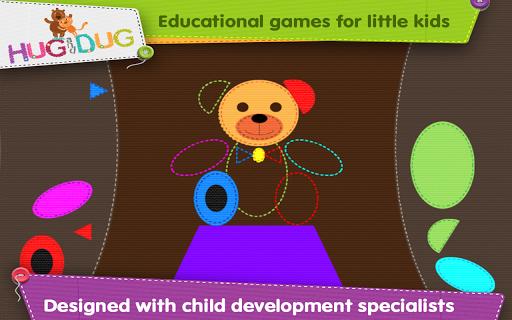 玩免費教育APP 下載Learn Shapes 2 - Hug and Dug app不用錢 硬是要APP