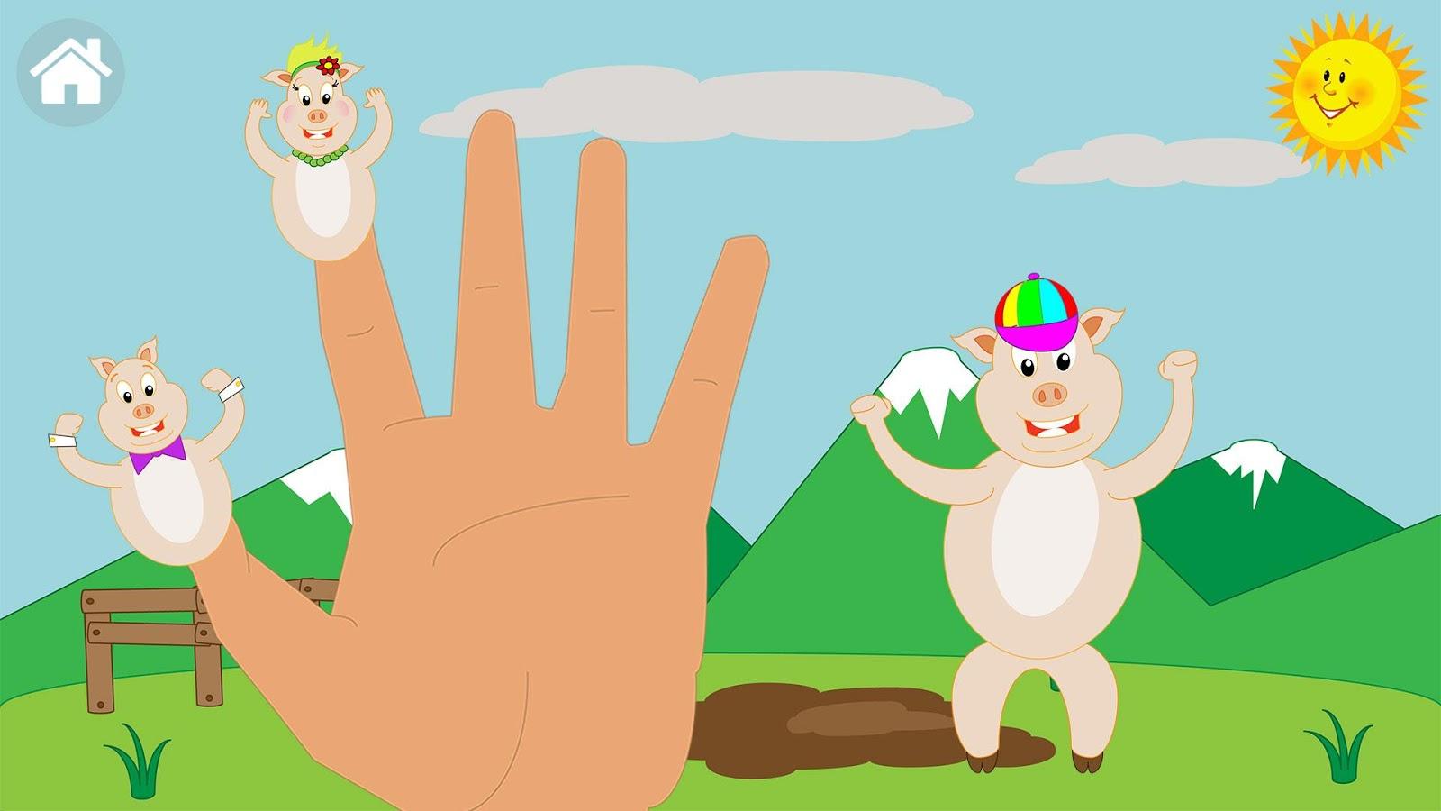 Finger Family Collection 7 Finger Family Songs - Finger family game screenshot