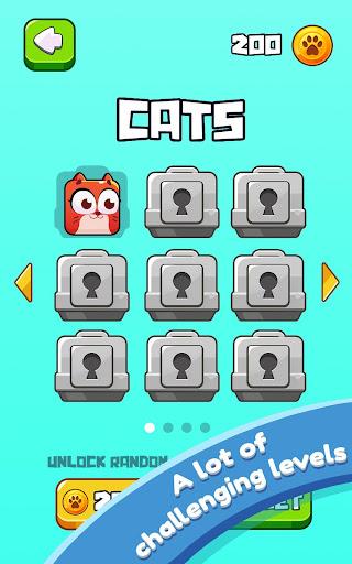 Cat Jumping: Kitten Up, Square Cat Run, Kitten Run 1.2.37 screenshots 10