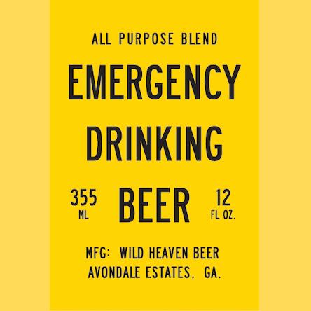 Logo of Wild Heaven Emergency Drinking Beer