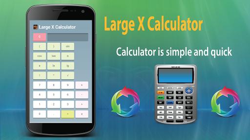 Large X Calculator