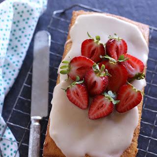 Strawberry & Vanilla Bean Cake