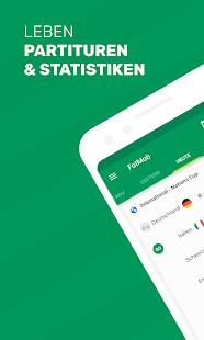 FotMob - Fußball Ergebnisse Screenshot