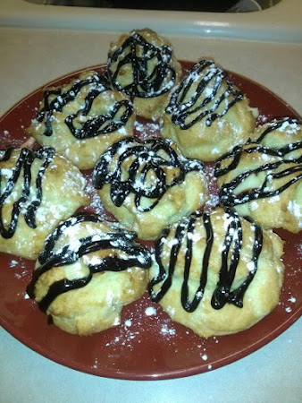 CUSTARD FILLED CREAM PUFFS Recipe