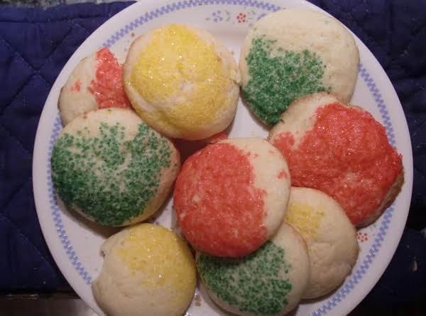 Eggnog Sugar Sparkles Recipe