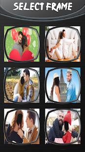 Pár v lásce fotomontáže - náhled