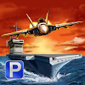 Navy Boat & Jet Parking Game icon