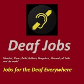 Deaf Jobs India + World