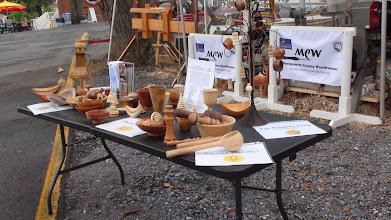 Photo: Display Area for MCW turned objects