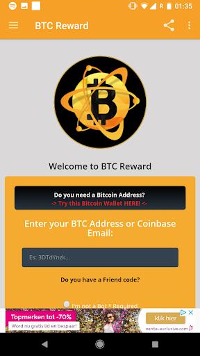 BTC Reward - Earn free Bitcoin screenshot 2