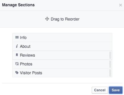 facebook sidebar reviews