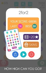 2 For 2: Connect the Numbers Puzzle APK screenshot thumbnail 16