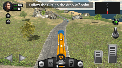 Real Truck Driving Simulator filehippodl screenshot 21