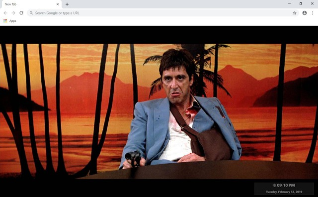 Scarface New Tab & Wallpapers Collection