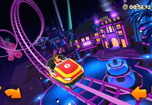 Thrill Rush Theme Park apktreat screenshots 2