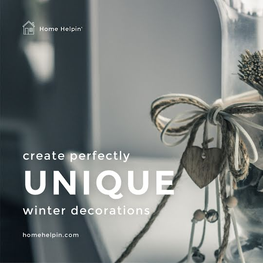 Unique Winter Decorations - Instagram Post Template