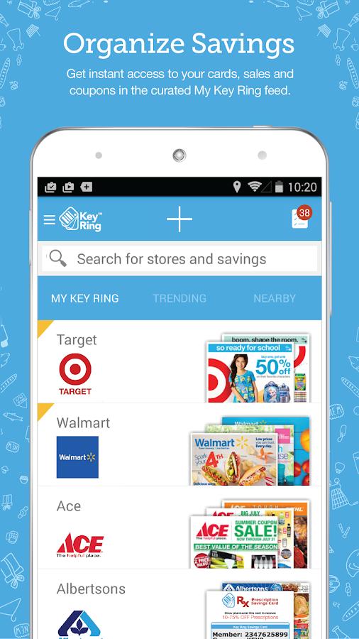 Key Ring: Cards Coupon & Sales- screenshot