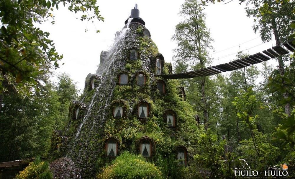 Montaña Mágica Lodge, o hotel inusitado no Chile
