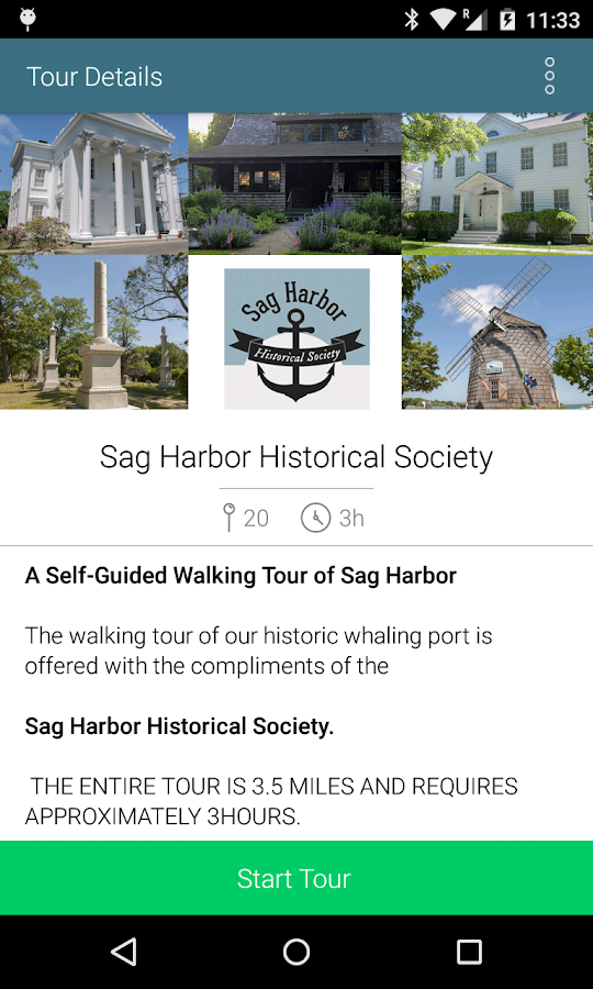 Sag Harbor Walking Tours- screenshot