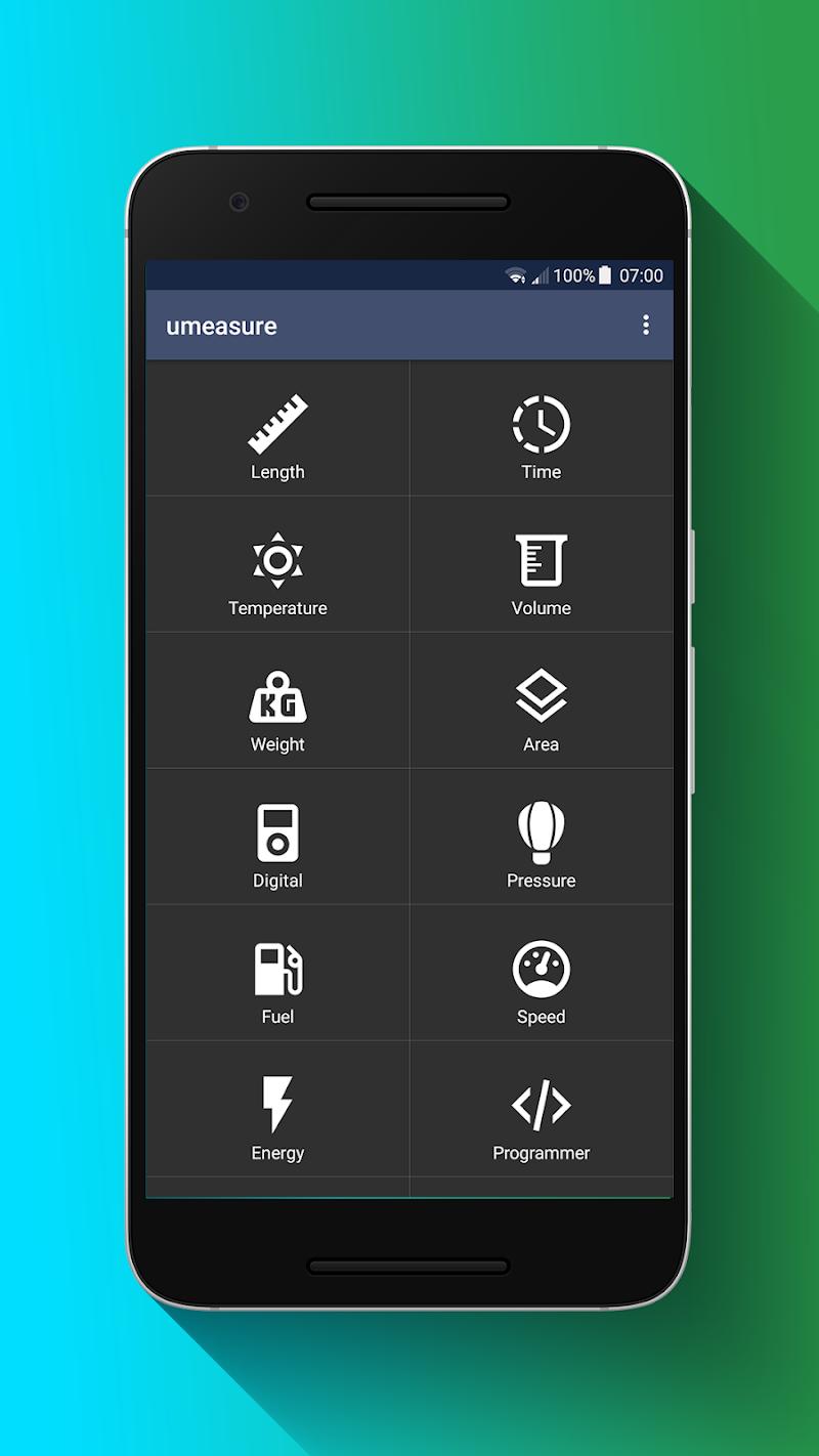 uMeasure - Offline Material Unit Converter Screenshot 0