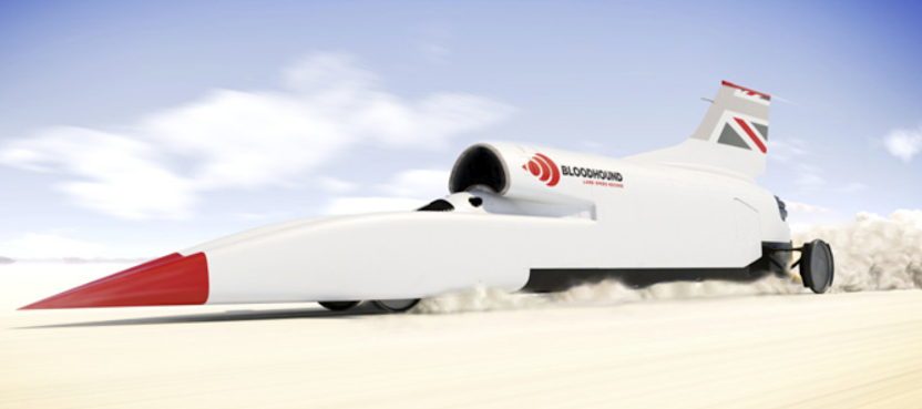 AWS helps Bloodhound attack land speed record.