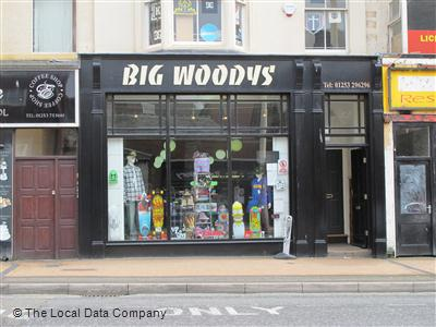 5fee32530e956 Big Woodys on Talbot Road - Sports Goods Shops in City Centre, Blackpool  FY1 1LF