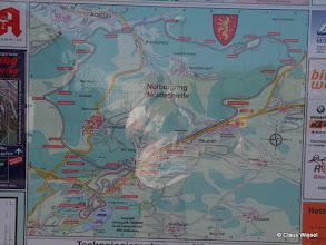 Photo: Touristen-Zufahrt Nordschleife an der Döttinger Höhe, km 0/21, Antoniusbuche.